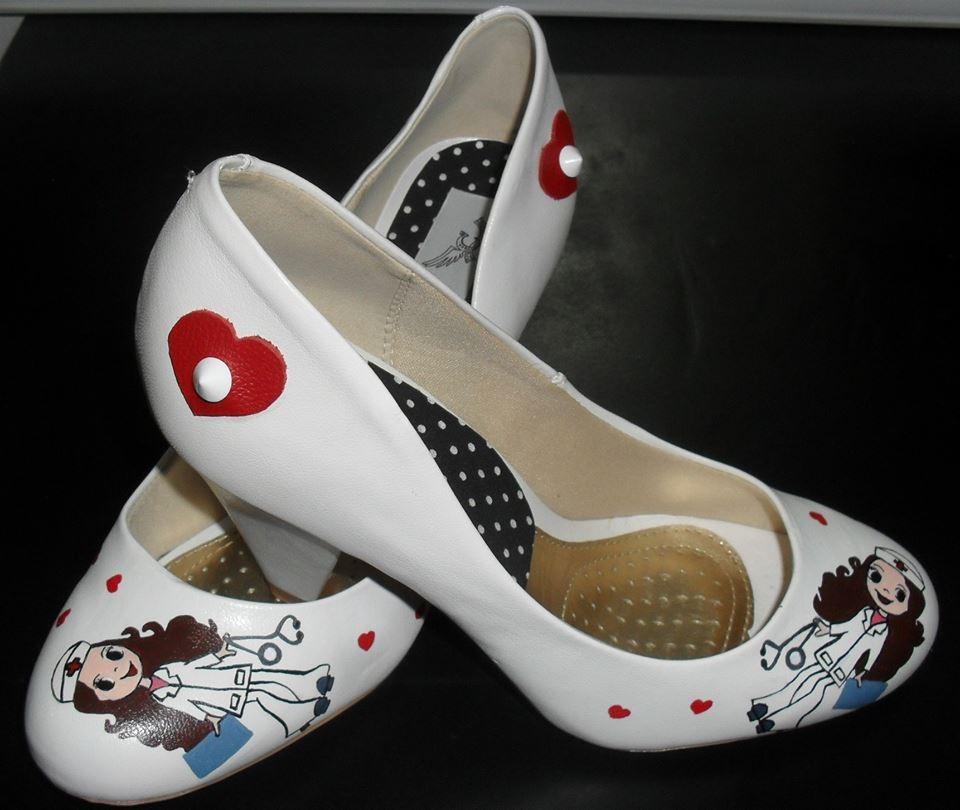 Sapatos Personalizados Linha Saúde