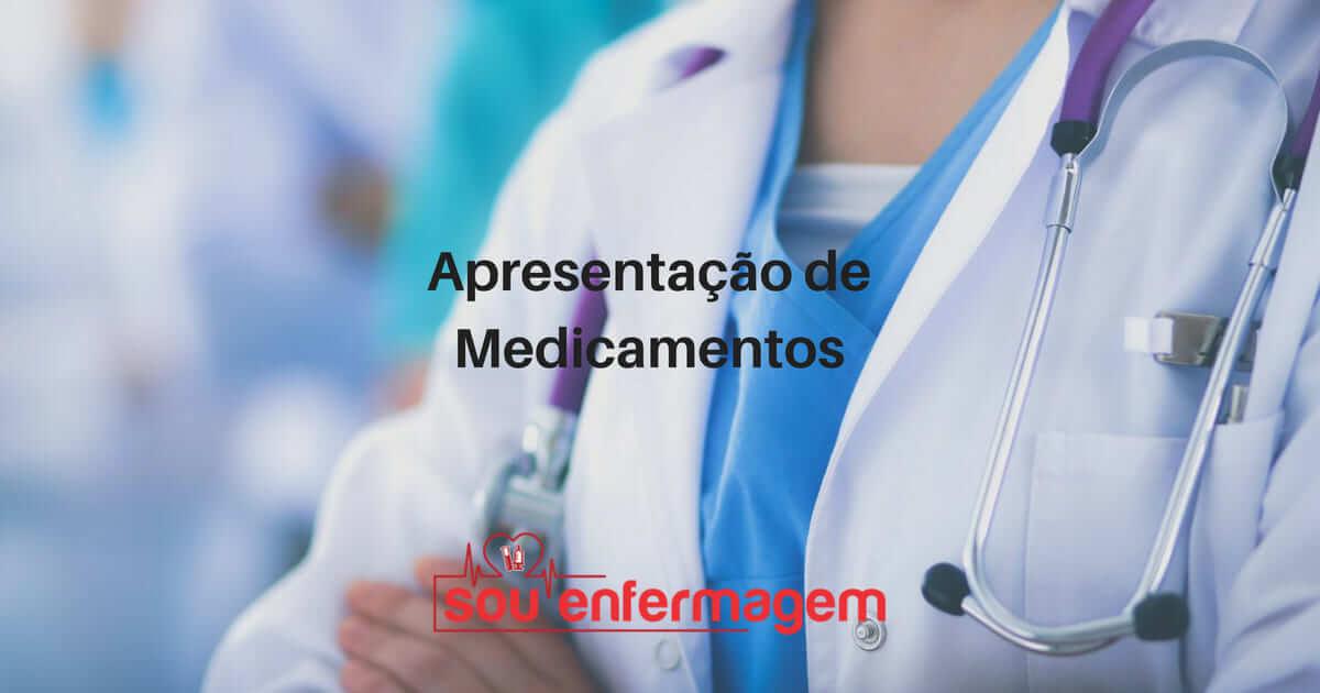Apresentação de Medicamentos