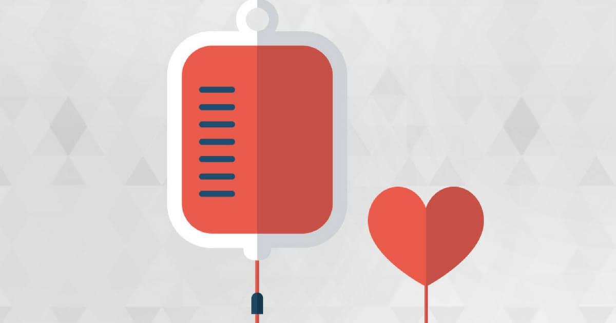 Menor risco de ataque cardíaco em pessoas com sangue tipo O, segundo estudo