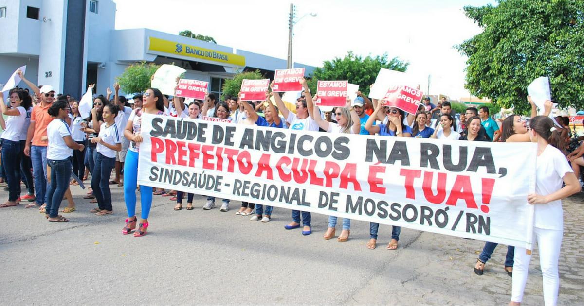 Enfermagem faz protesto em março