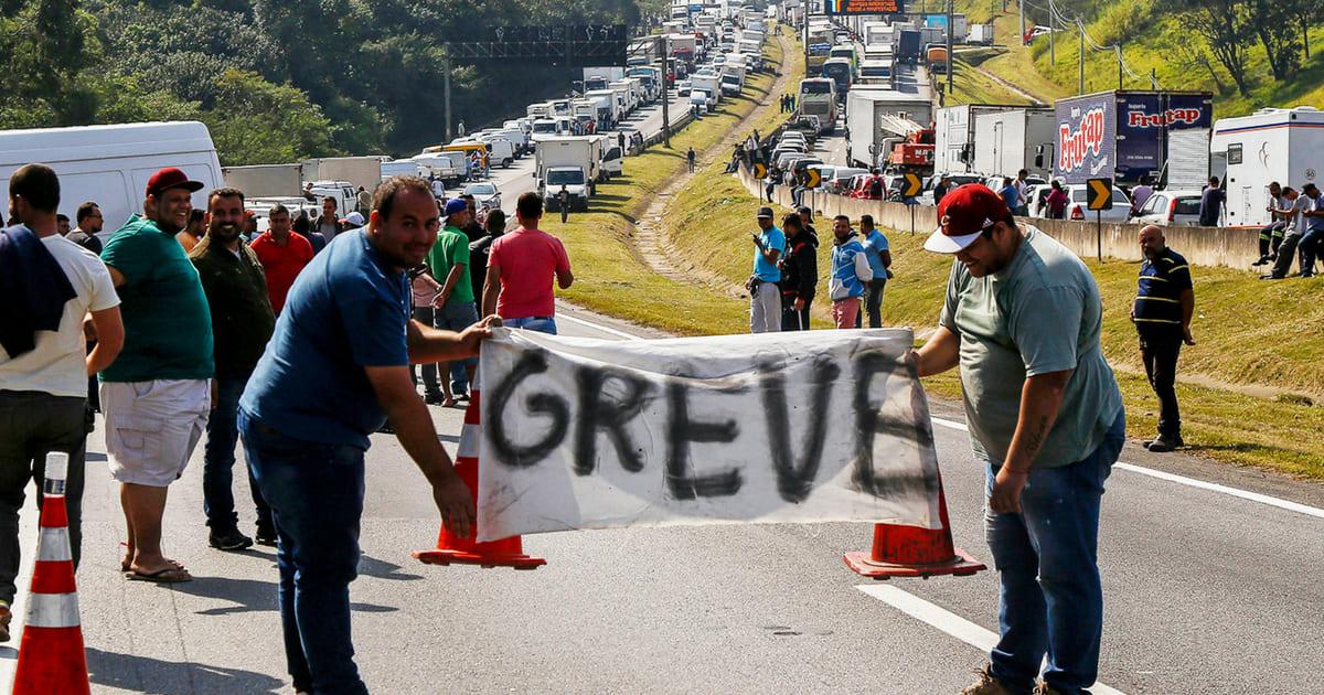A Greve dos caminhoneiros já afeta setor saúde