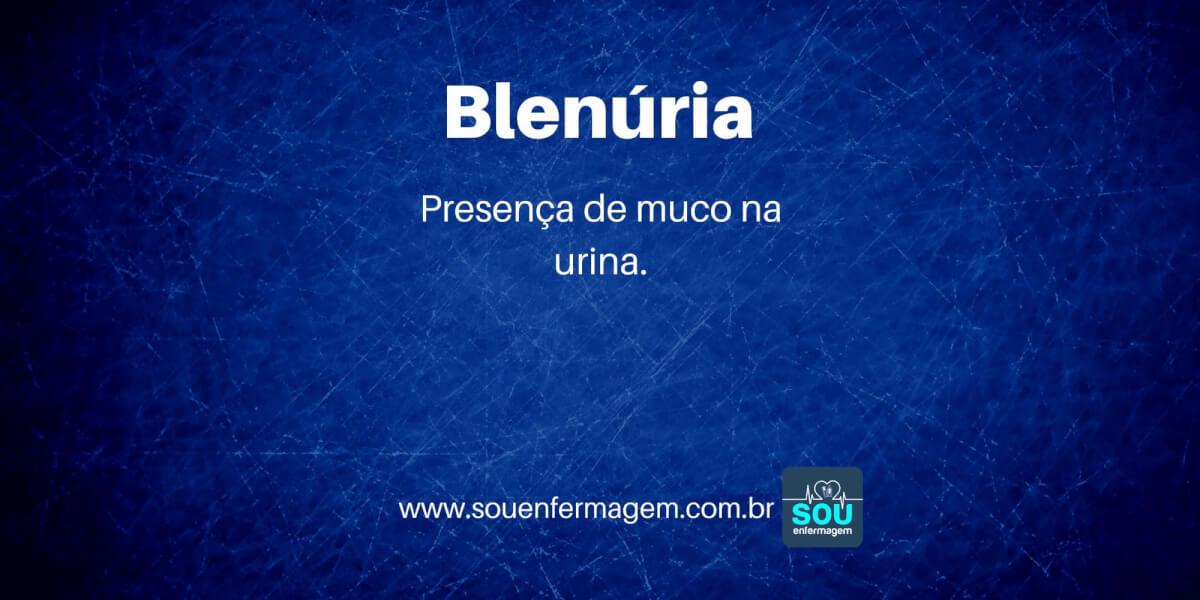 Blenúria