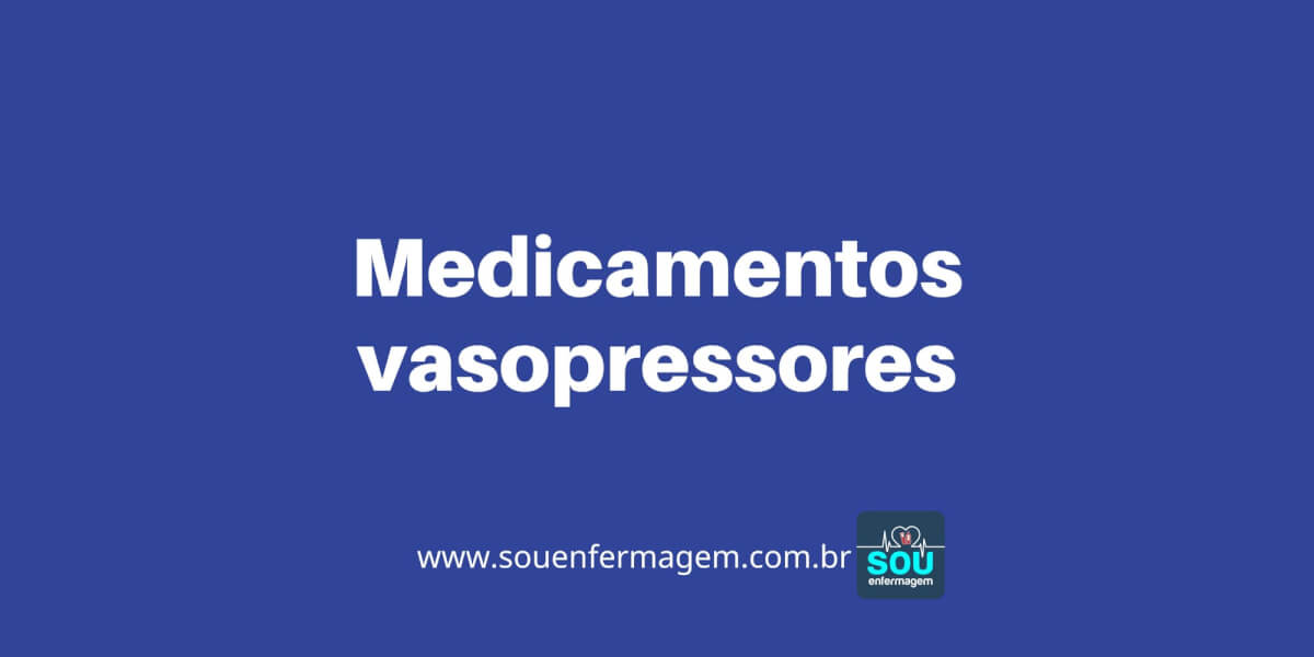 Medicamentos vasopressores