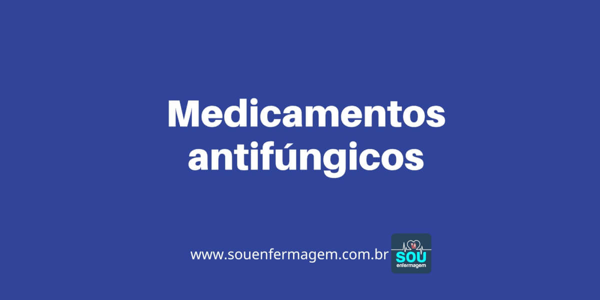 Medicamentos antifúngicos
