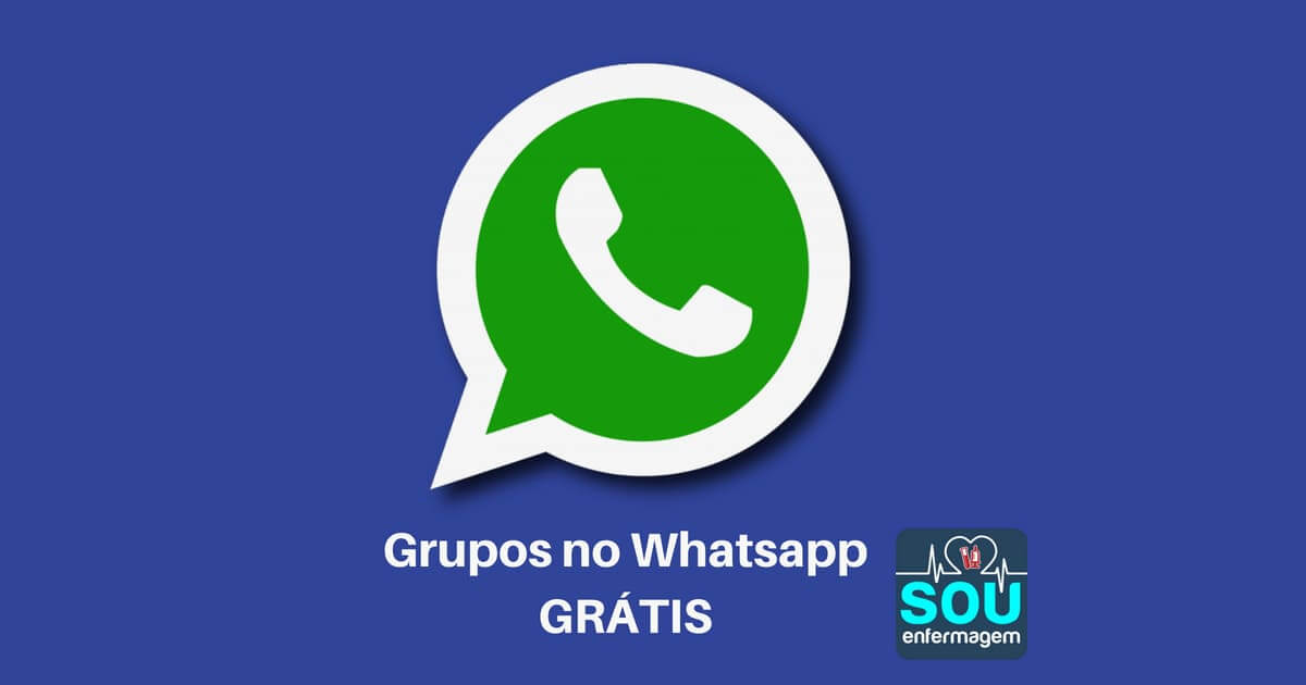 Grupos de Whatsapp para a Enfermagem