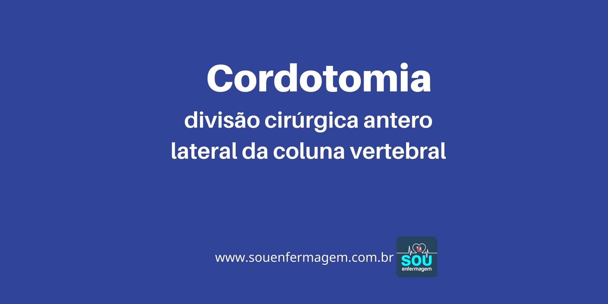 Cordotomia