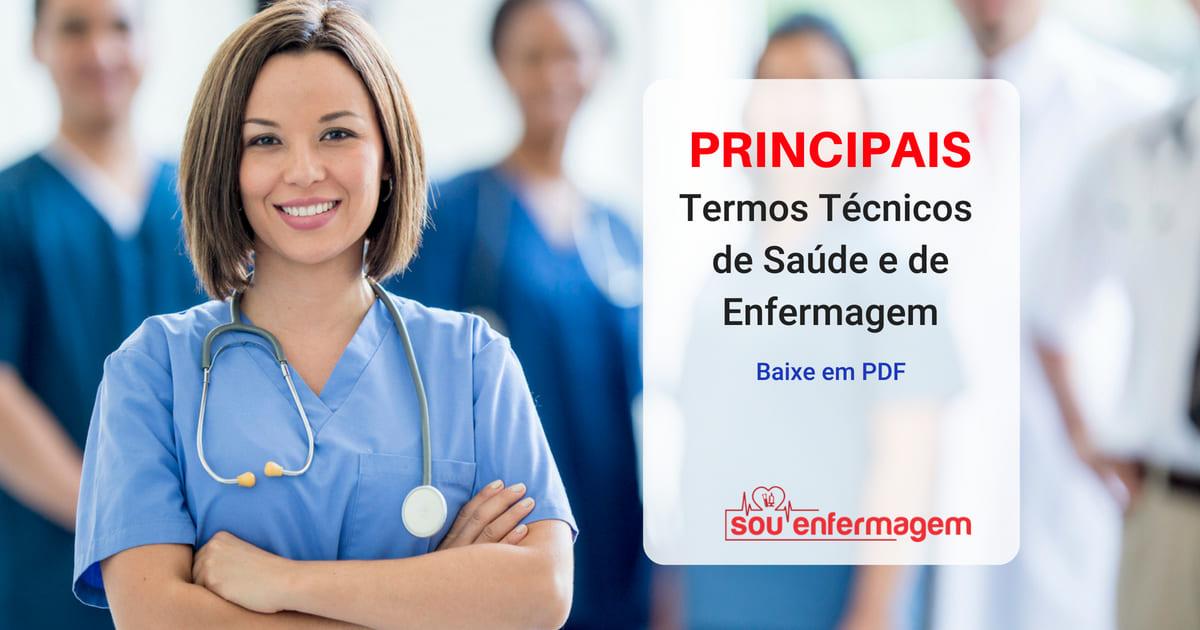Principais Termos Técnicos de Saúde e Enfermagem