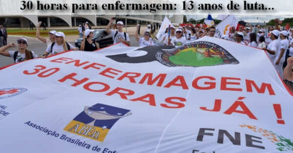 São Luís tem jornada de 30h para profissionais de enfermagem