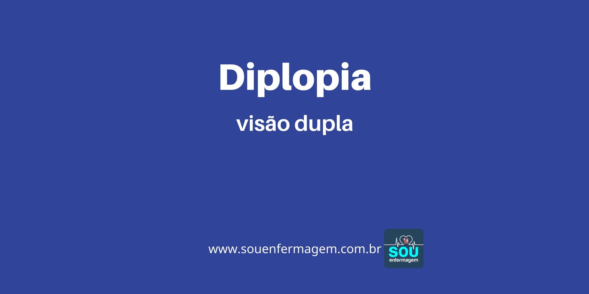 Diplopia