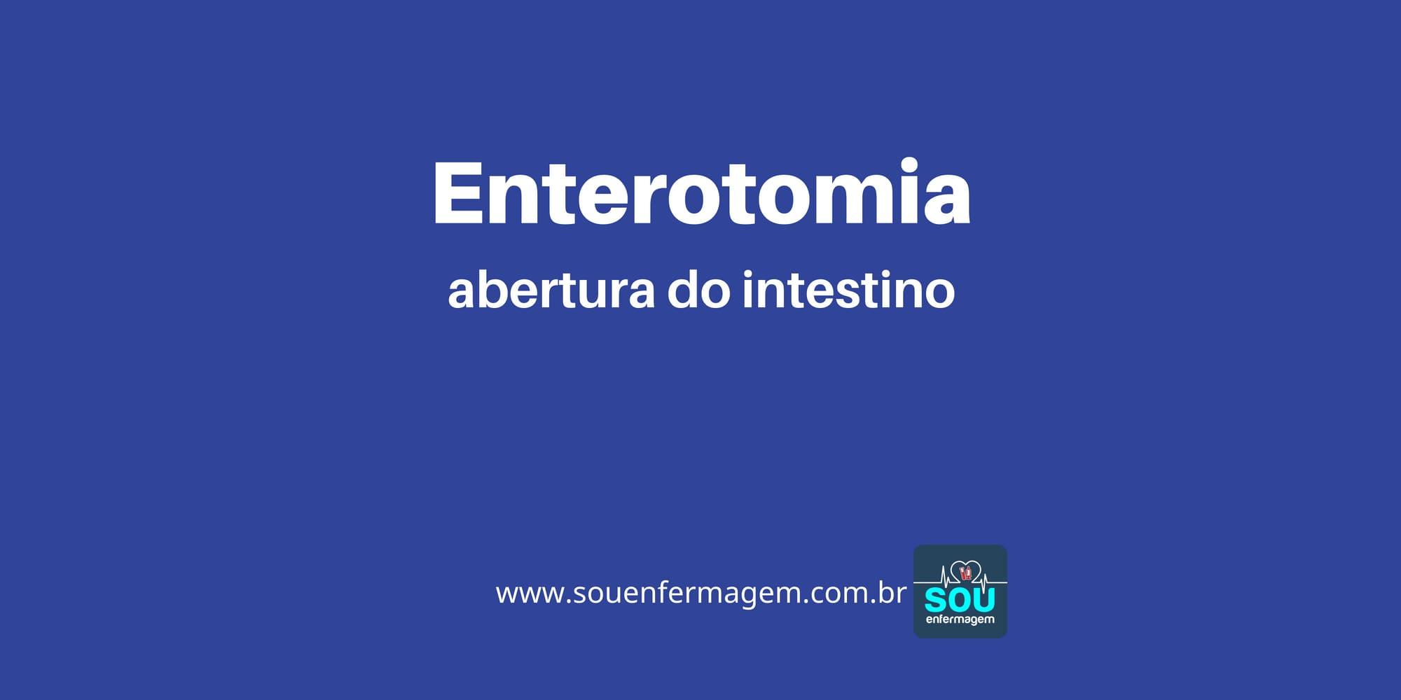 Enterotomia