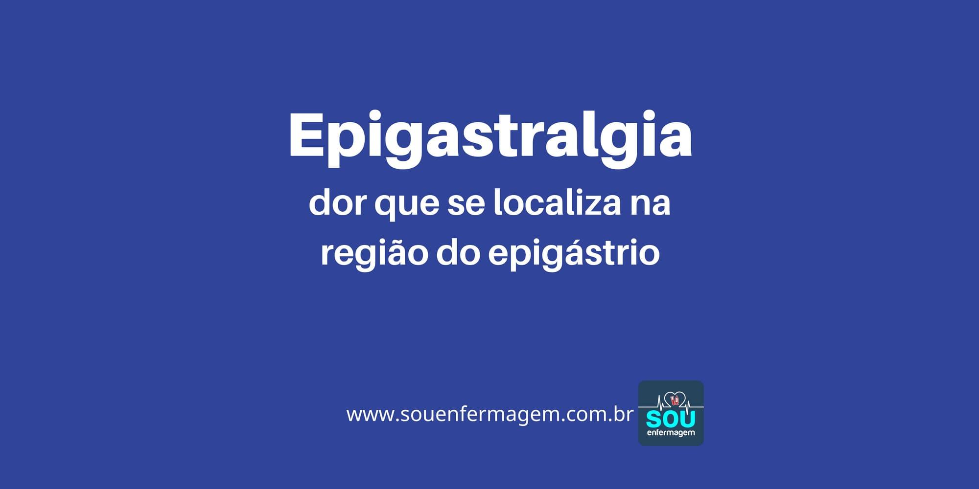 Epigastralgia