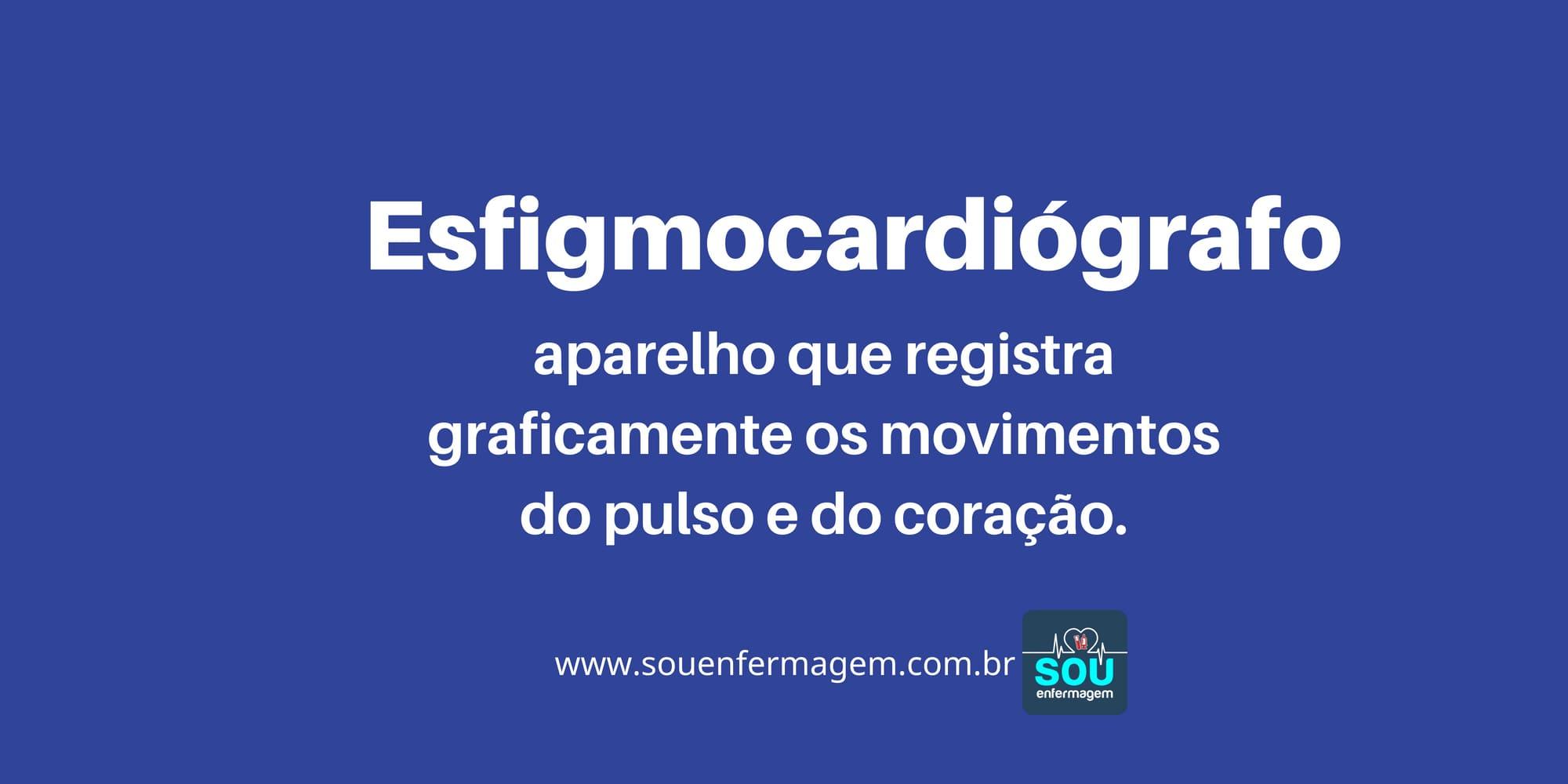 Esfigmocardiógrafo