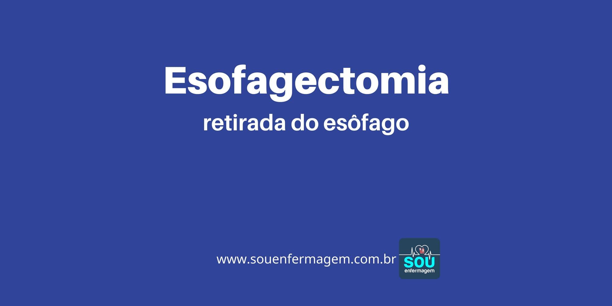 Esofagectomia