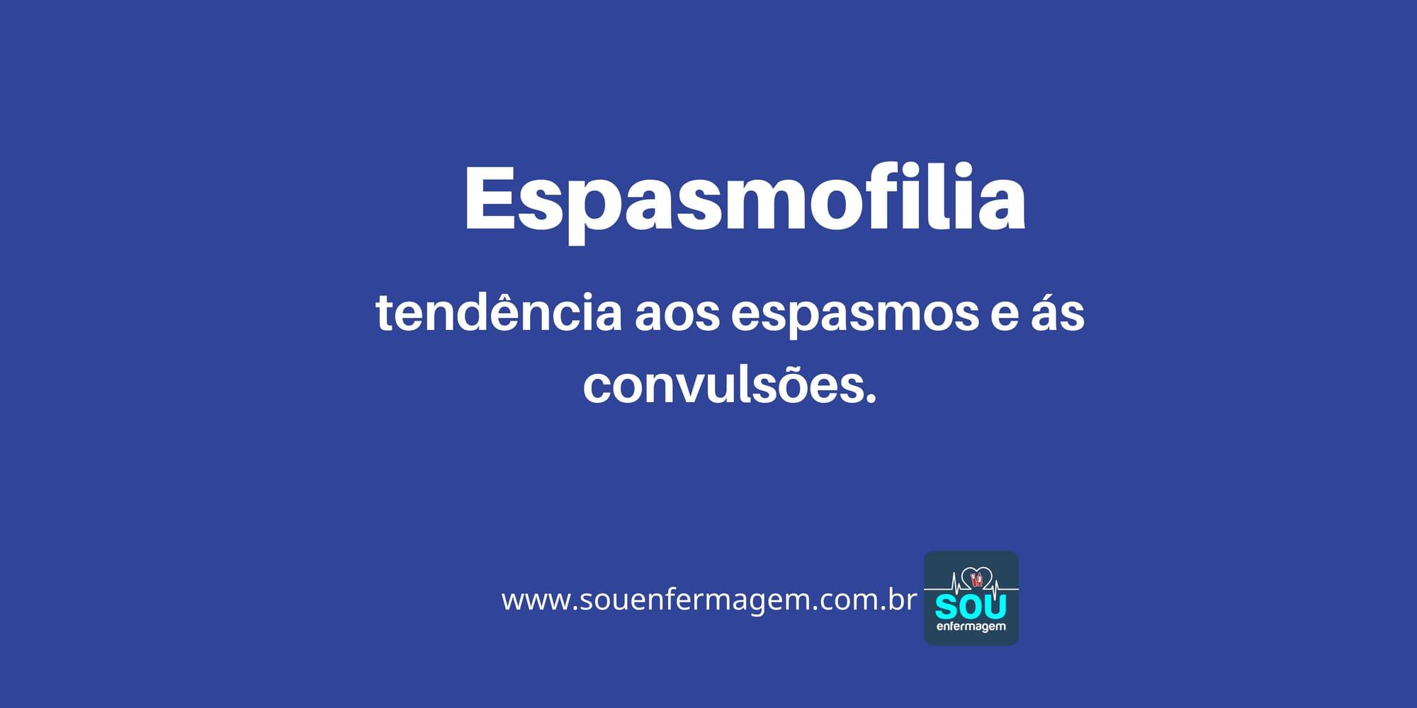 Espasmofilia