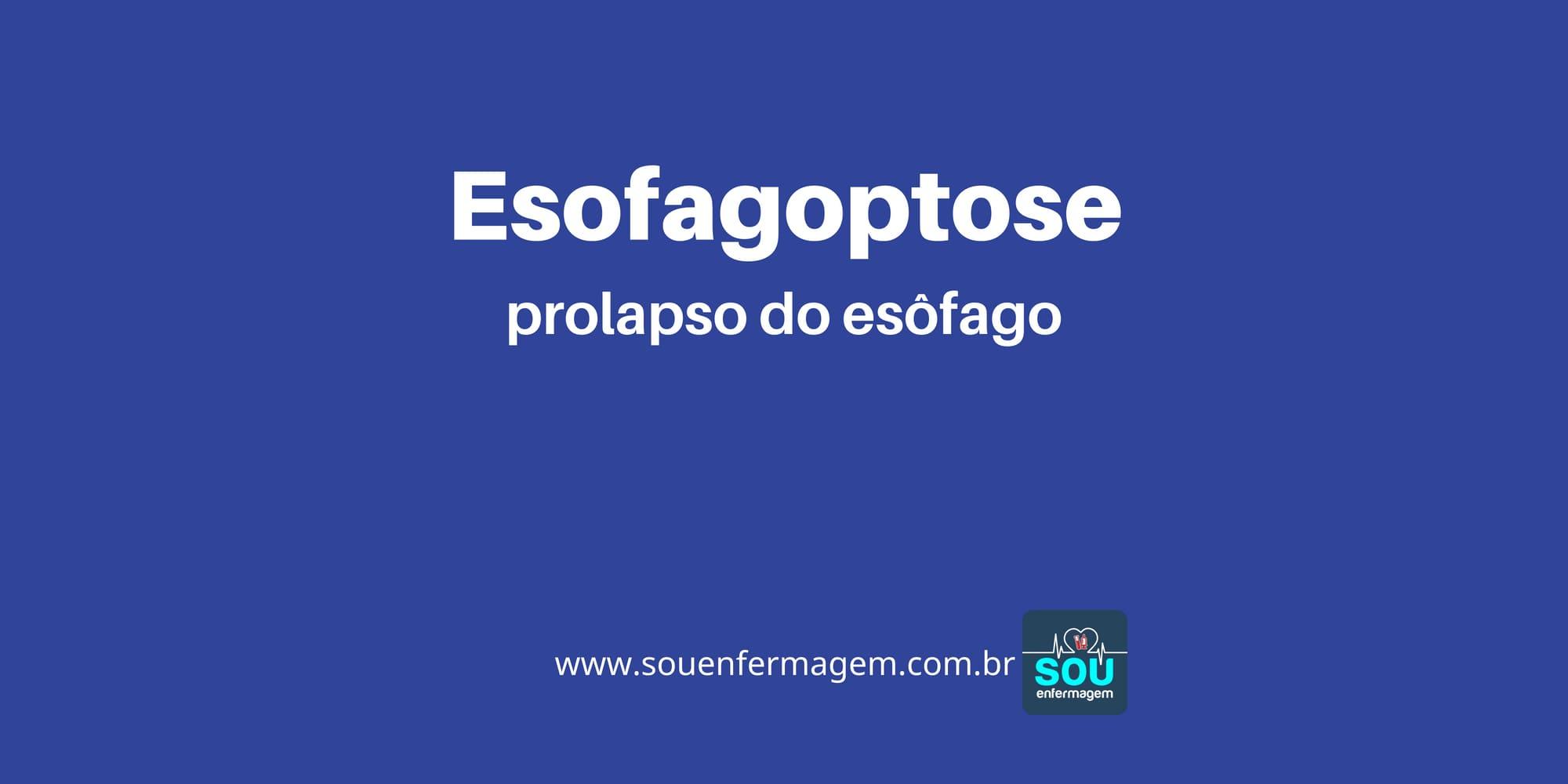 Esofagoptose