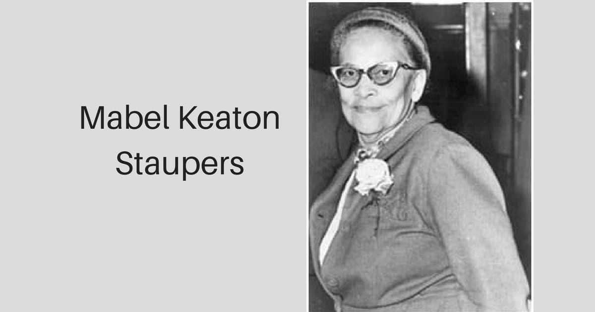 Mabel Keaton Staupers