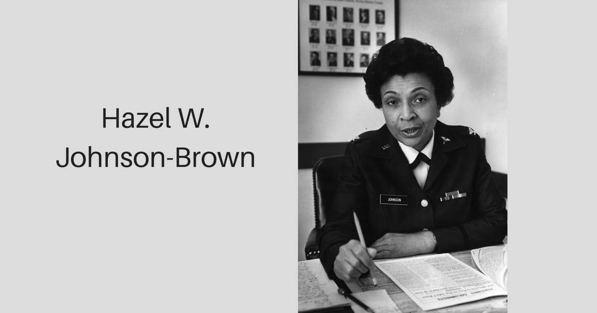 Hazel W. Johnson-Brown