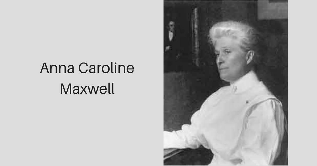Anna Caroline Maxwell