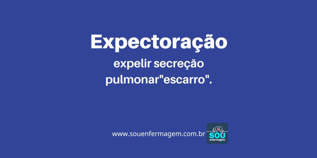 Expectoração