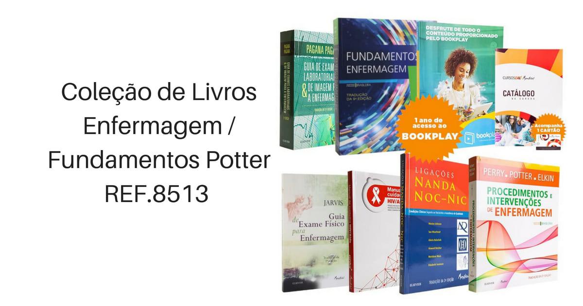 Coleção de Livros Enfermagem 2F Fundamentos Potter - REF.8513.jpg