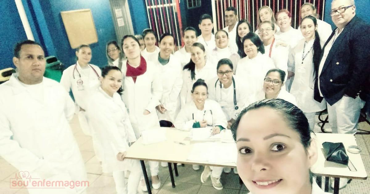 Alunos do Curso Técnico em Enfermagem do SENAC visitam escola municipal