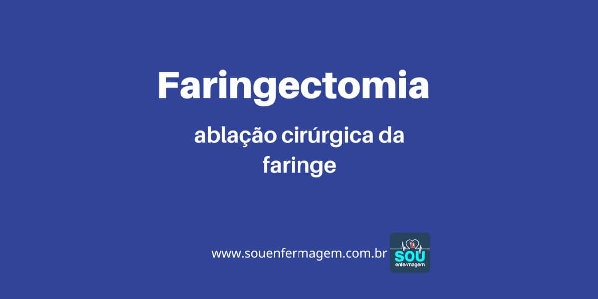 Faringectomia