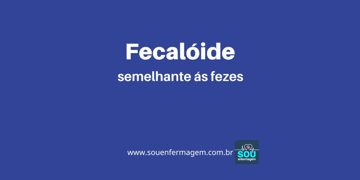 Fecalóide
