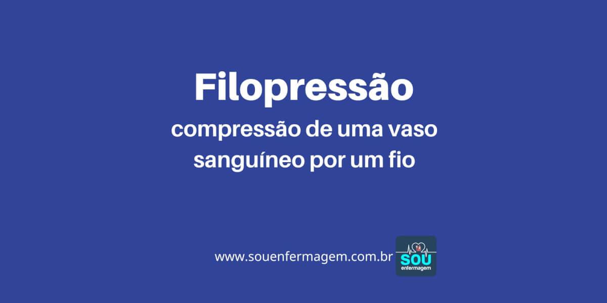 Filopressão