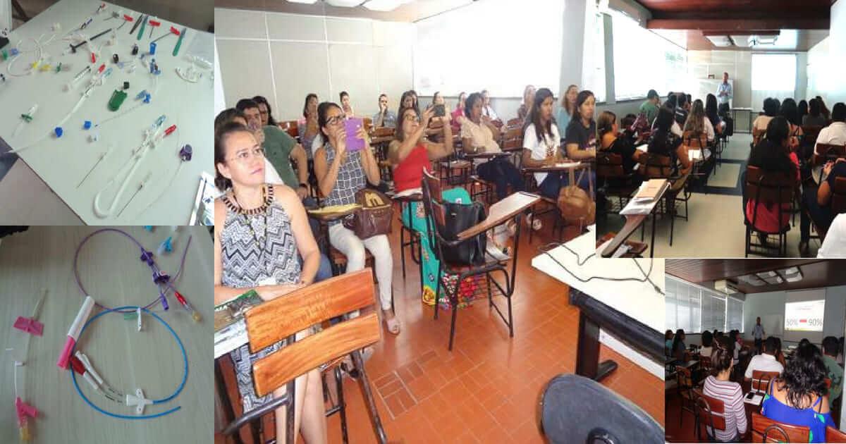 Hospital Universitário João de Barros promoveu capacitação para enfermagem