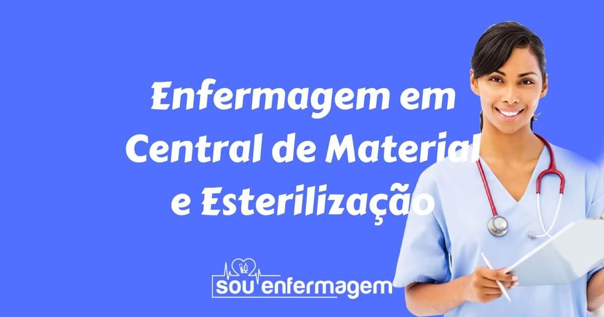 Especialidade Enfermagem em Central de Material e Esterilização