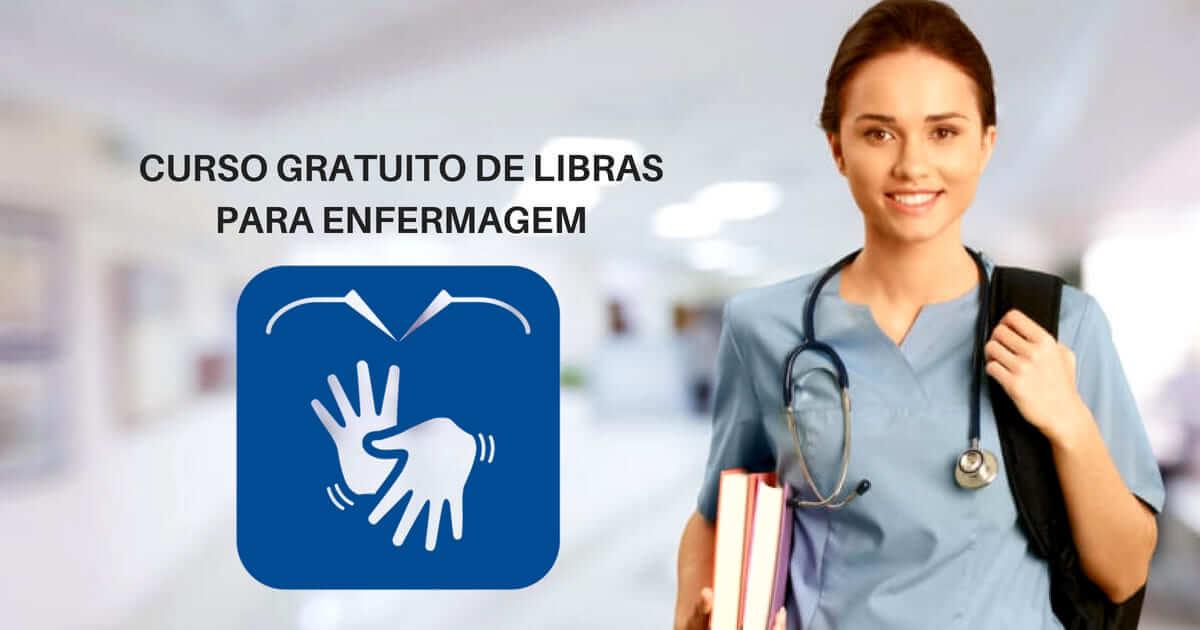 Curso Gratuito de Libras para profissionais da enfermagem