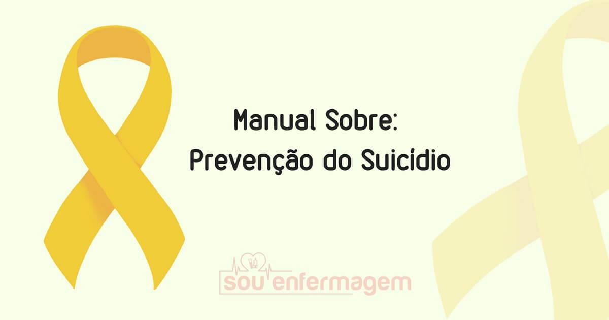Manual Sobre Prevenção ao Suicídio