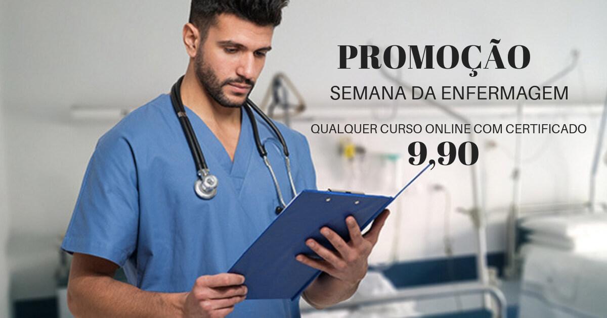 Instituto promove cursos online com baixo custo no mês da enfermagem