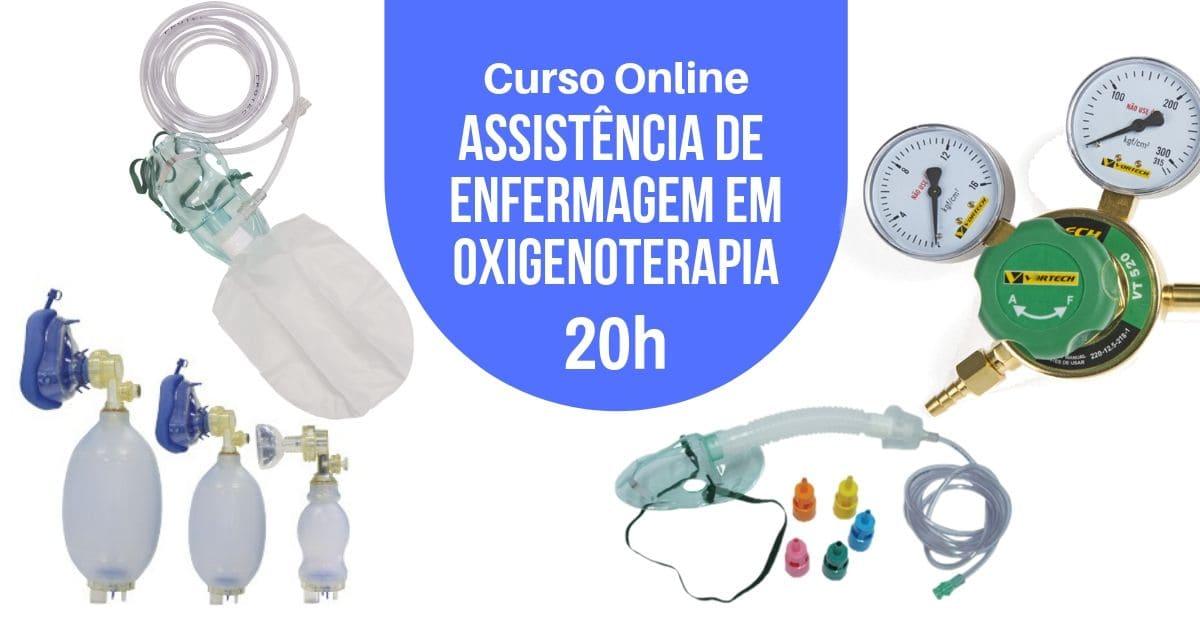 Curso Assistência de Enfermagem em Oxigenoterapia 20h