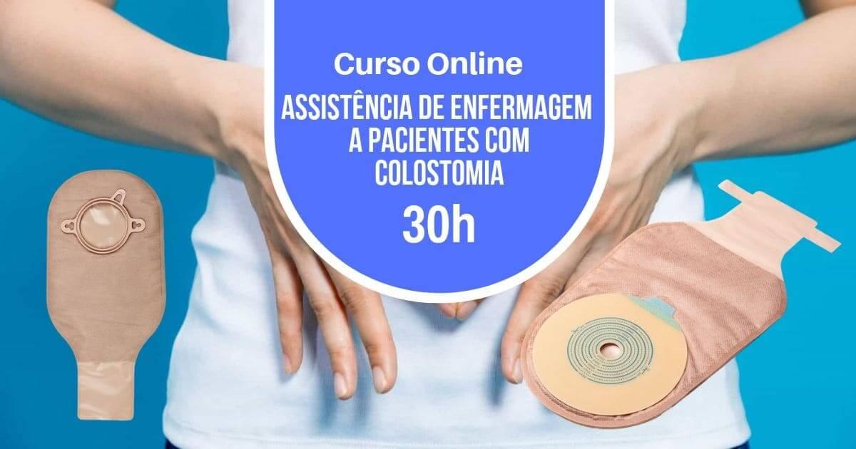 Curso Assistência a Pacientes com Colostomia 30h
