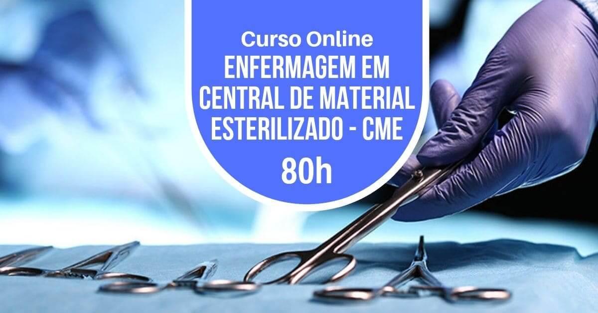Curso Central de Material Esterilizado - CME 80h