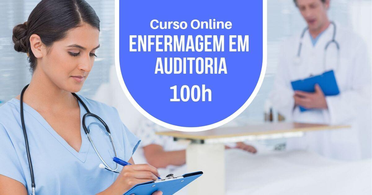 Curso Auditoria e Serviços de Enfermagem 100h