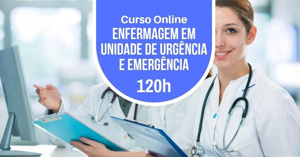 Curso Enfermagem em Unidade de Urgência e Emergência 120h