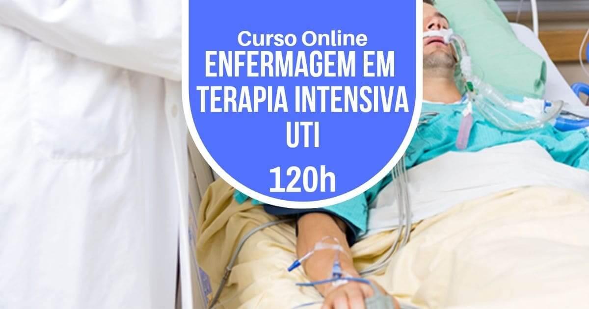 Curso Enfermagem em Unidade de Terapia Intensiva - UTI 120h