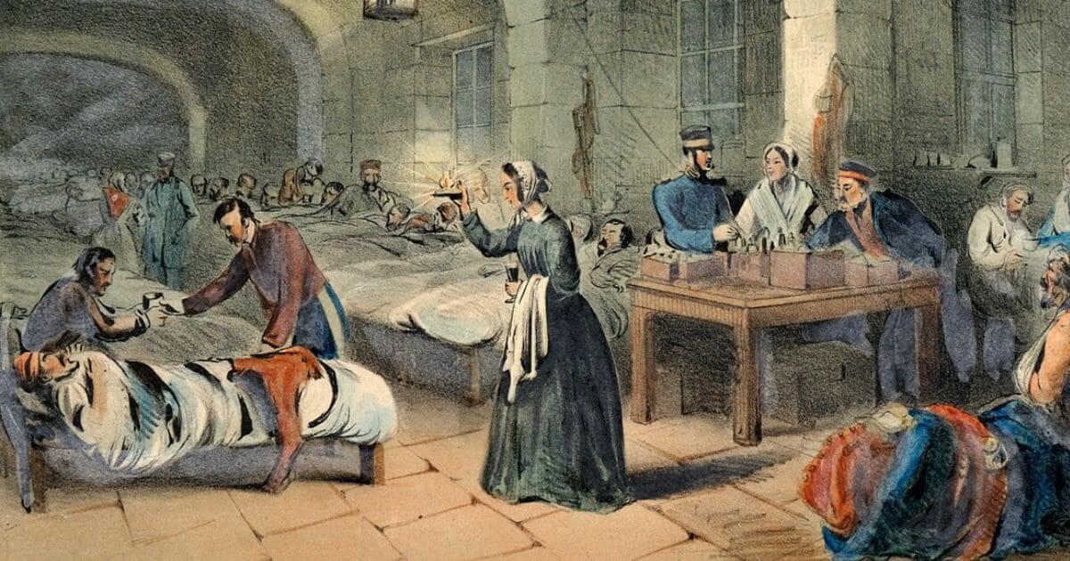Unidade de terapia intensiva inspirada em Florence Nightingale