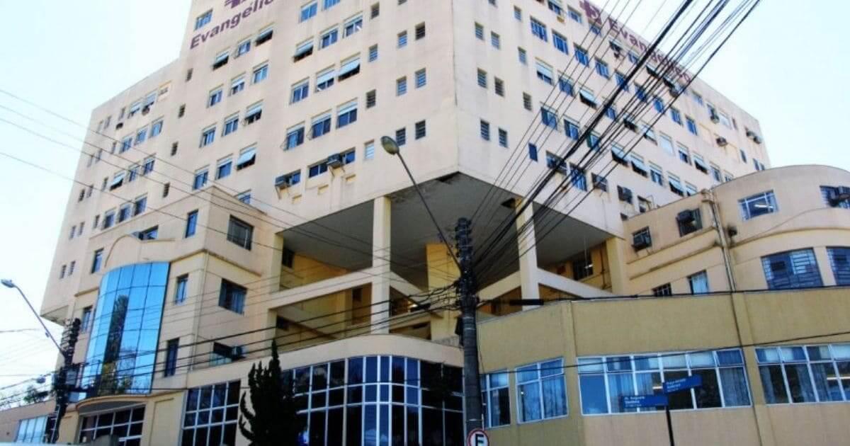 O Hospital Evangélico em Curitiba vai abrir mais 100 vagas para atendimento em pediatria