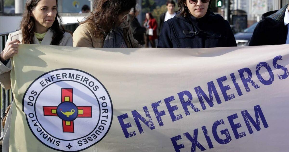 Em Portugal greve dos Enfermeiros tem adesão de 80% e hospitais se desesperam