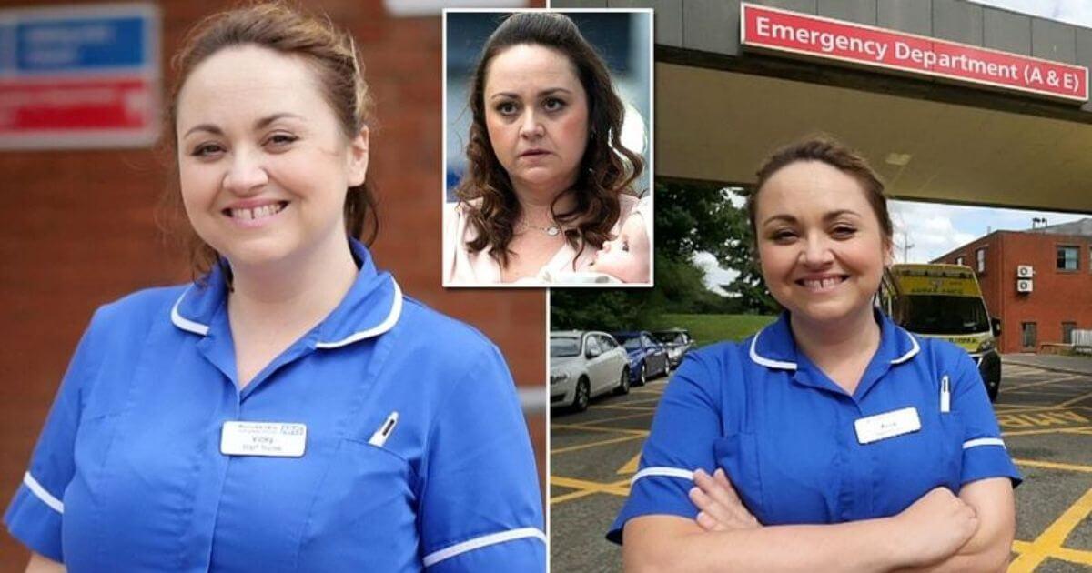 Atriz de cinema decide ser enfermeira depois da interpretação do personagem