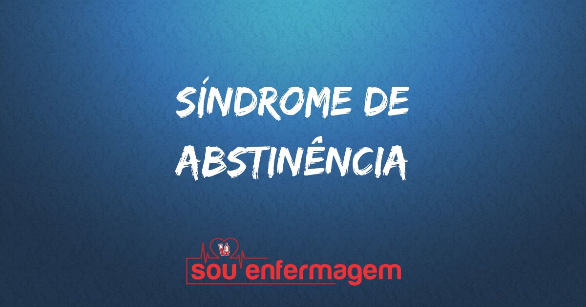 Síndrome de abstinência
