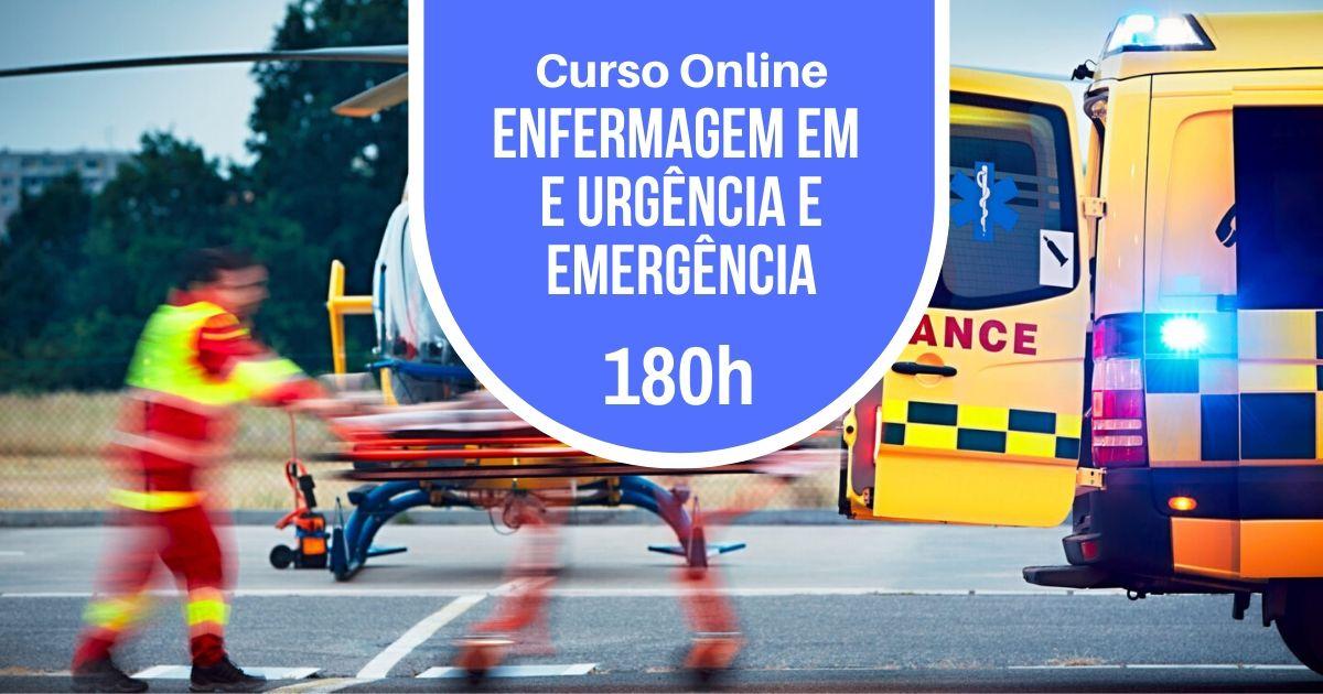 Curso Online de Enfermagem em Urgência e Emergência com 180h