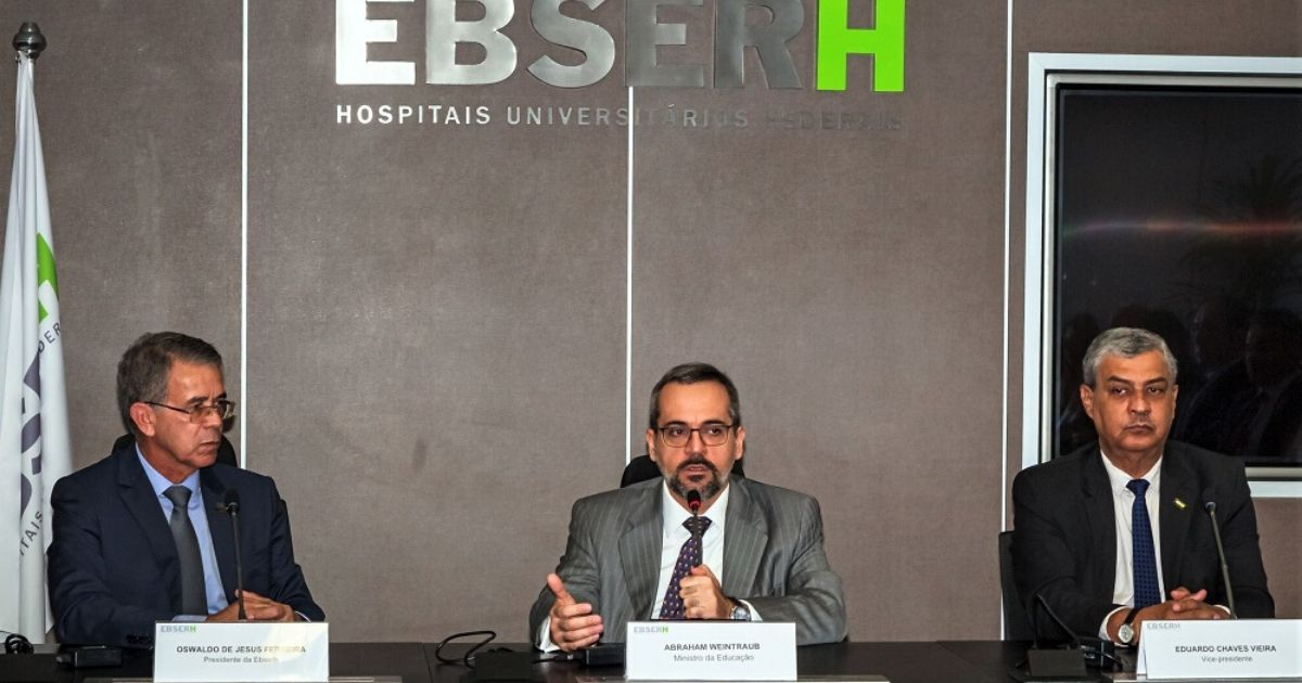 Governo Federal autorizou a abertura de 6 mil vagas na EBSERH