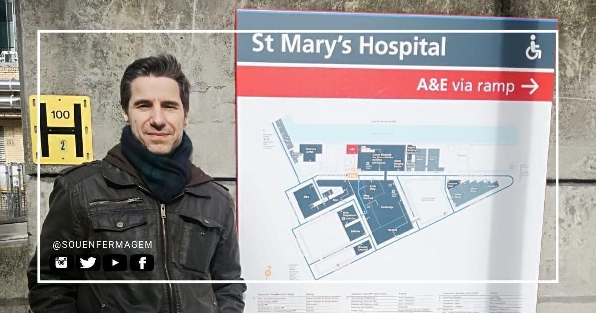 Faleceu enfermeiro que liderou campanha para pacientes de COVID19