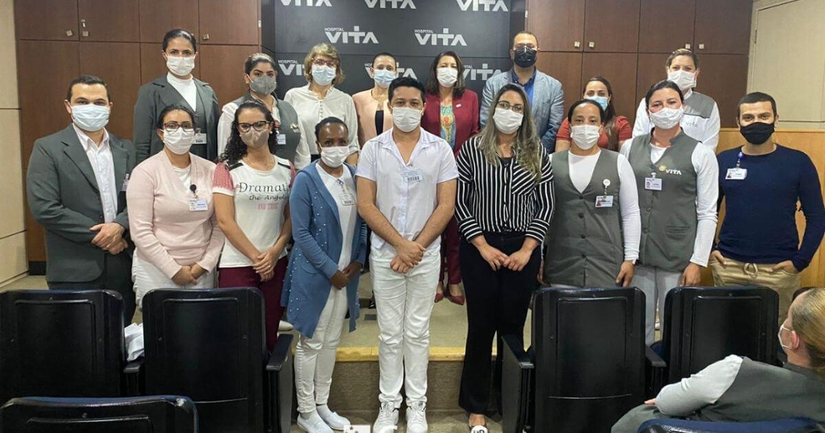 Coren-PR empossa Comissão de Ética de Enfermagem no Hospital Vita – Curitiba e Batel