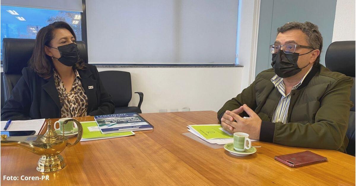 Coren-PR se reúne com deputado Michele Caputo para discutir pautas da enfermagem
